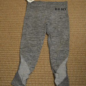DKNY High-Waist Seamless Ankle Legg Heather Grey M